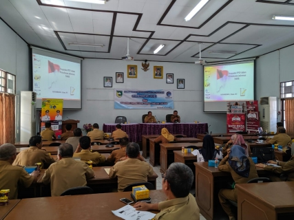 Optimalkan Keterbukaan Iinformasi, Dinas Kominfo Tala Gelar Sosialisasi PPID
